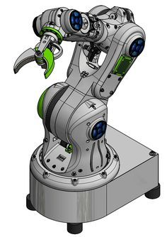 My printable robot arm is inspired by the well known industry robots, but printable. The goal is to develop a open source robot arm to use in private or small businesses and make robot development available for every one. The arm should lift about 2 kg enough to perform every day tasks. Currently robot arms are expensive or small and weak, or clumpy. Industrial robots are expensive and dangerous and for that not suitable for using at home or schools. A Open Source printable robot can bu...