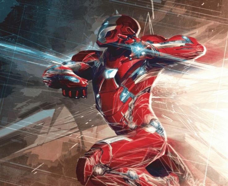 Superhero Iron Man Wall Mural. New Collection By WallandMore! Part 70