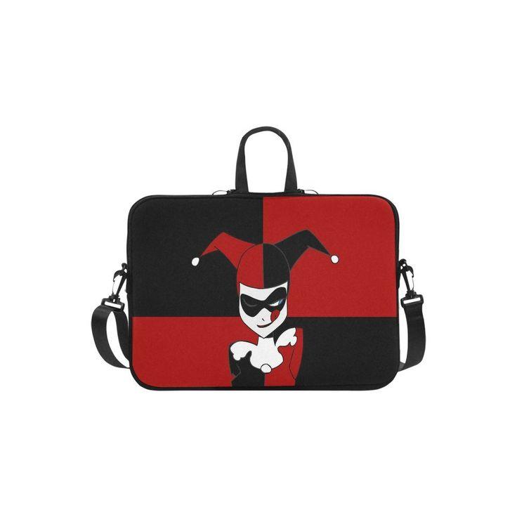 "Harley Quinn Sleeve Case Messenger Bag for Laptop 10"" 11"" 13"" 14"" 15"" 15.6"" 17"" and Macbook"