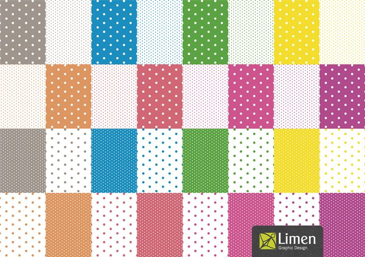 Do you like polka dots? And neon color? If so, don't miss the chance to buy this set of pattern to use on you designs, crafts and scrapbooks. :)
