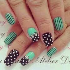 Verde com preto combina muito!