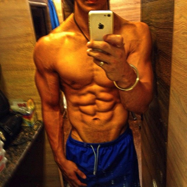 Interesting. Tell Young hunk with six pack abs Exaggerate