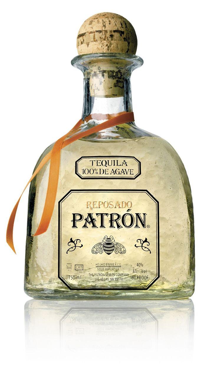 Patron Reposado Tequila. The best of both worlds between light and dark tequilas.  | spiritedgifts.com