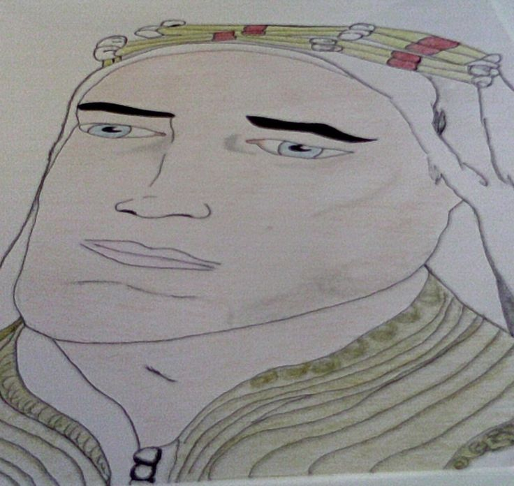 Robert Pattinson as Lawrence of Arabia