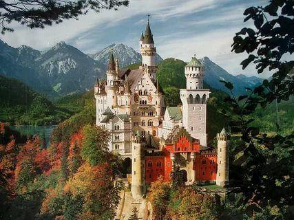 самые красивые замки мира: 14 тыс изображений найдено в Яндекс.Картинках