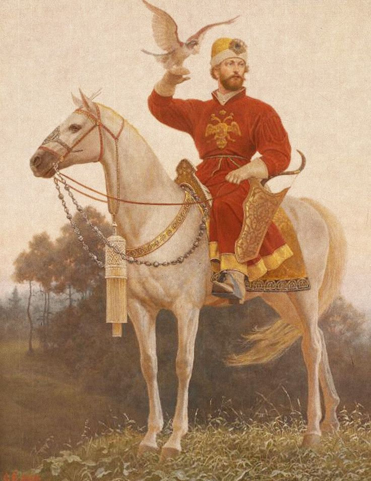Государев человек. Сокольничий. XVII век