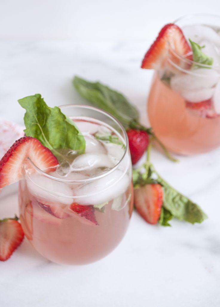 Summerfield Delight | Strawberry Basil Rhubarb Sangria ...