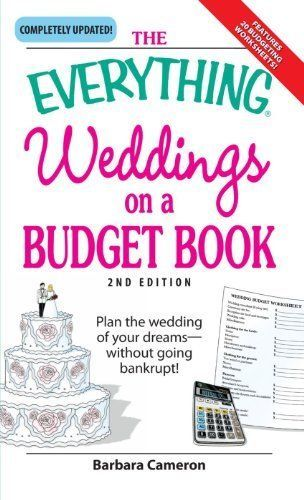 the everything weddings on a budget book plan by cameron