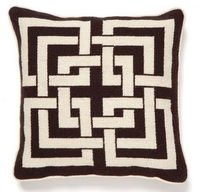 Needlepoint pillow...