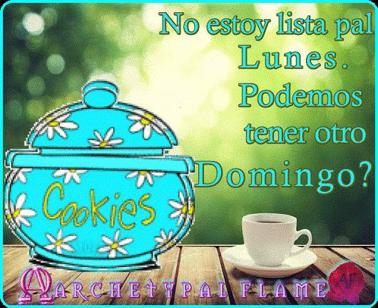 Archetypal Flame Lunes1  Feliz nueva semana queridas almas No estoy lista pal Lunes. Podemos tener otro Domingo? Amor y Luz,♡ ☯ ∞ ☼  #ARCHETYPAL #FLAME #GIFS #gif #positive #quotes #frases #φράσεις #improvement #mind #agape #love #light #fos #amor #luz #νους #βελτίωση #αγάπη #φως #θετική #σκέψη #thinking #power #Monday #Sunday #Lunes #Domingo #Δευτέρα #Κυριακή