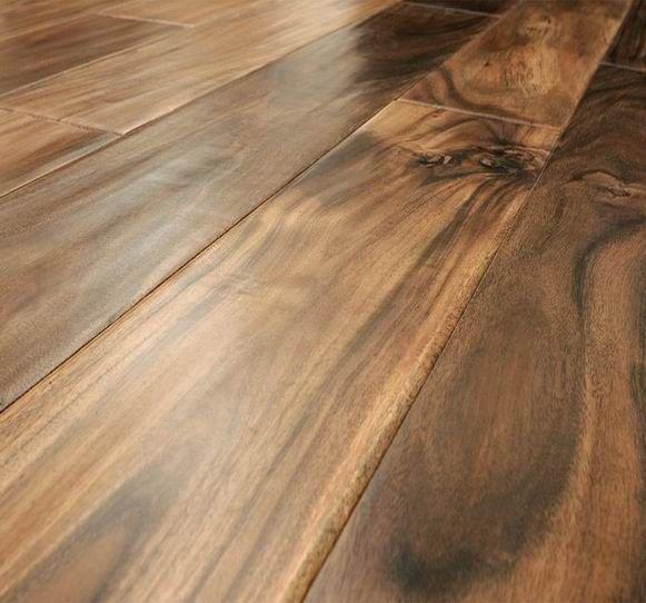 Acacia Dark Walnut Wood Flooring Prefinished Hardwood