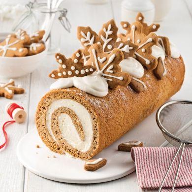 Bûche au pain d'épice - Recettes - Cuisine et nutrition - Pratico Pratique
