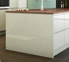 WHITE HIGH GLOSS KITCHEN BEDROOM ISLAND END PANEL - 900mm/870mm/18mm #WHITE #HIGH #GLOSS #KITCHEN #BEDROOM #ISLAND #PANEL #mm/mm/mm