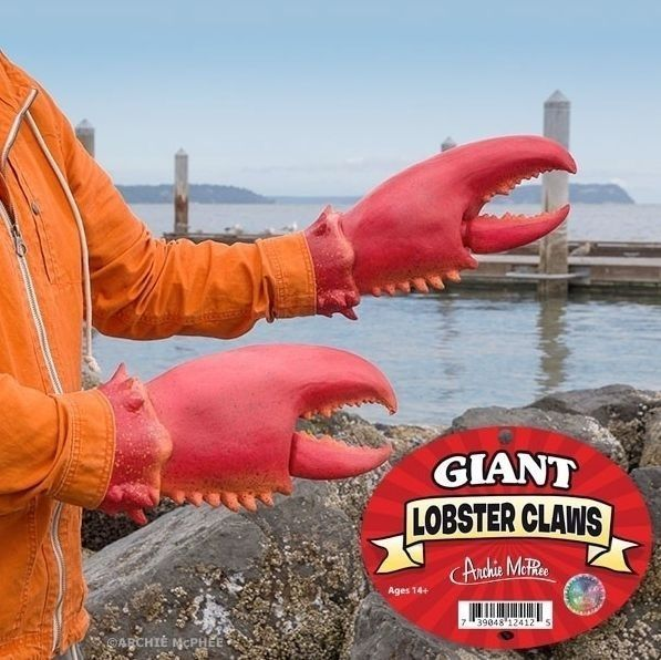 #GIANT #SET #LOBSTER #CLAWS #Halloween #Costume #Rubber #Hands #Latex #Pinchers #GagGift #Gag #Gift #ArchieMcPhee #Claws