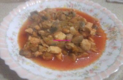 Tavuklu mantar sote | Yemekgurmesi