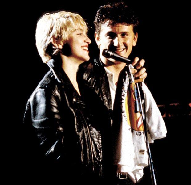 Madonna and Sean Penn 1986