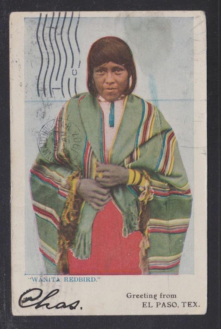 USA 1907 Wanita Redbird El Paso Texas