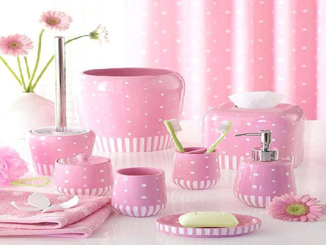 The 25 Best Pink Bathroom Accessories Ideas On Pinterest