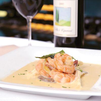 Shrimp with Sambuca Sauce
