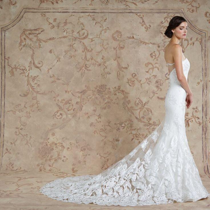 Nour #weddingdress from Sareh Nouri fall 2016 wedding dresses | itakeyou.co.uk: