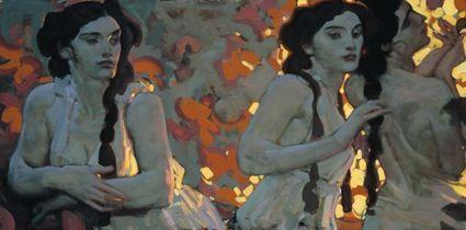 Brighton, UK artist John Watkiss