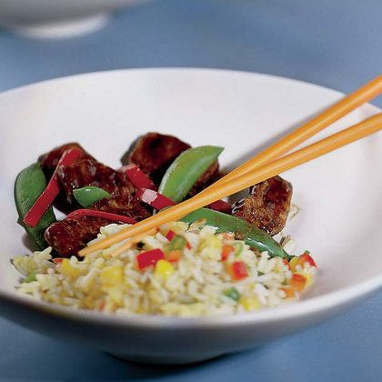 Simba's Steak Stir-Fry from Dishing It Up Disney Style: A Cookbook for Families with Type 1 Diabetes