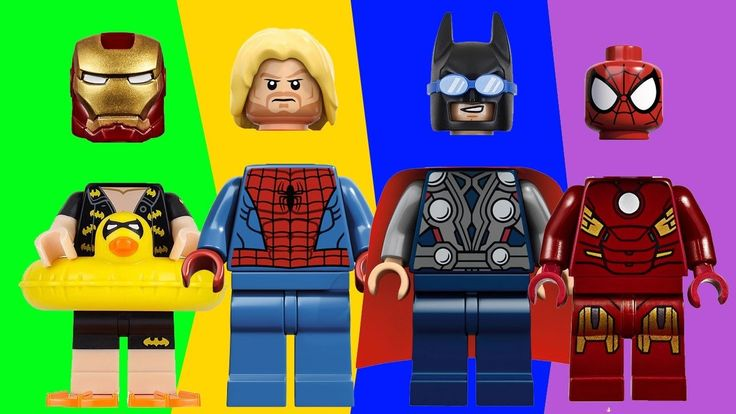 Wrong Heads LEGO Superheroes Spiderman and Batman Elsa Hulk Finger Family Nursery Rhymes for Kids Share this video: https://www.youtube.com/watch?v=FqC75PeIZ...