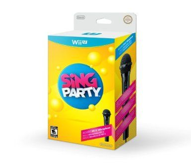 SiNG PARTY With Wii U Wired Microphone By Nintendo Platform