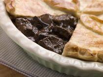 Beef and Guinness Pie, Beef and Guinness Pie Recipe - Photo © stockXpert