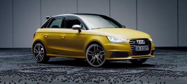 Le spot publicitaire de l'Audi S1