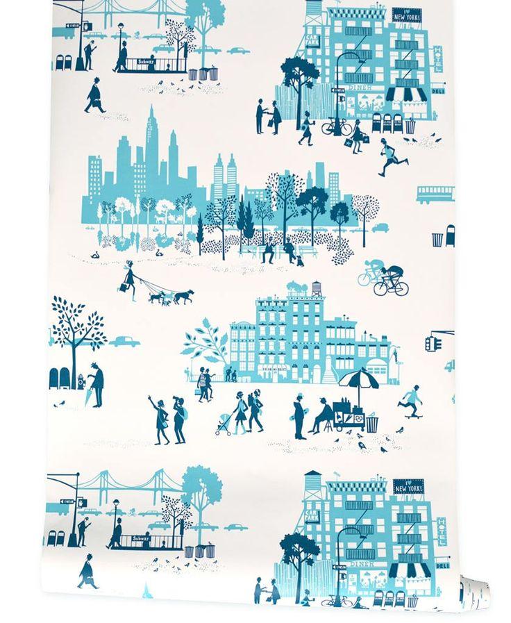 Manhattan Wallpaper - $70 famille belle