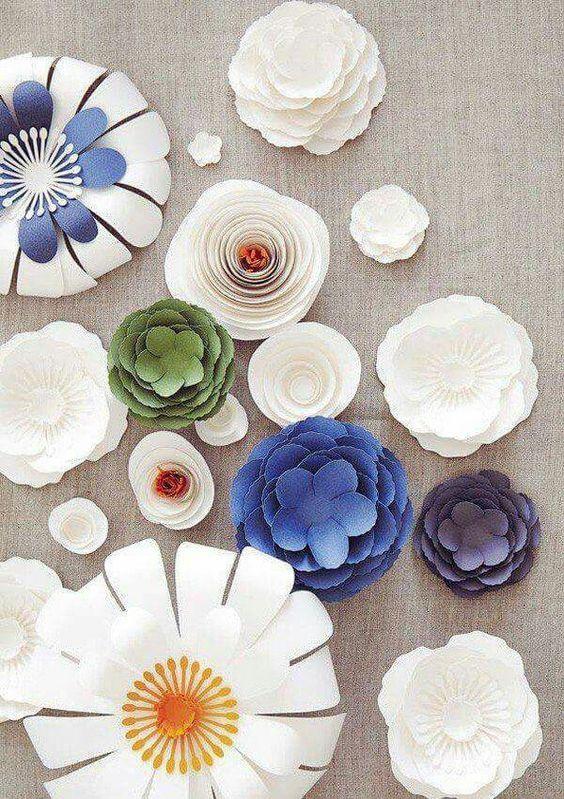 40 paper flowers diy