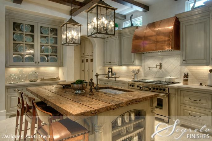 Everything!: Ideas, Dreams Kitchens, Lights Fixtures, Rustic Kitchens, Range Hoods, Kitchens Islands, House, Wood Countertops, Lanterns