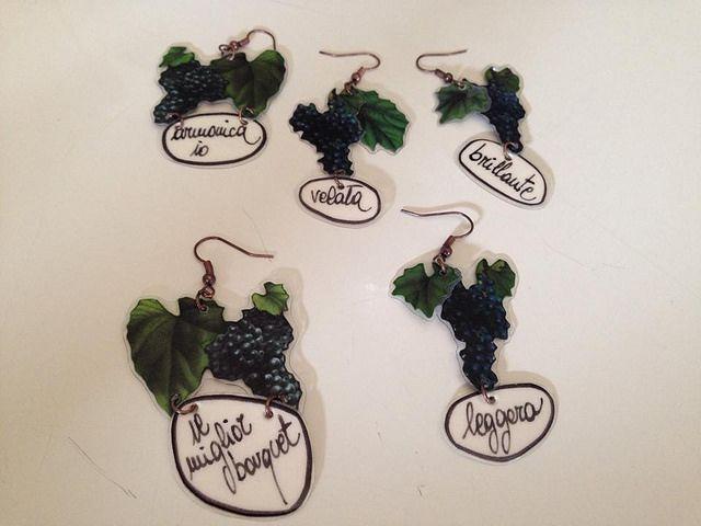 Un orecchino o più per ogni giorno di #Vinitaly2014: tanti stati d'animo, tante sfumature possibili e nuovi linguaggi per il vino.