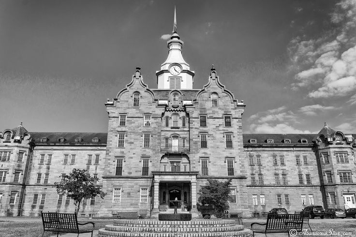 Old Haunted Kirkbride Insane Asylum - West Virginia TRANS-ALLEGHENY LUNATIC ASYLUM! I visited this awesome place in July, 2014. Well worth the trip, time and money!!! This place is amazing and has an unbelievable history!!