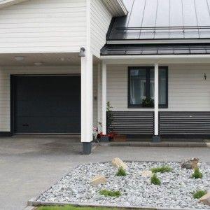 Autotallinovi - Artic Store #garagedoor #outdoor #autotallinovi #nosto-ovi #gardiset #articstore #gray