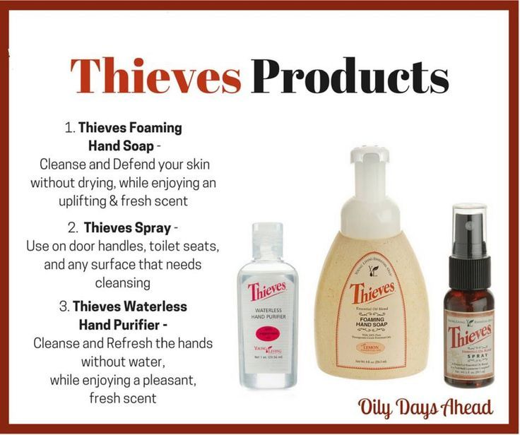 Thieves Foaming Hand Soap Makes It Easy To Lather Rinse And Get On