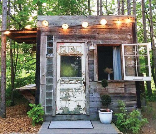 Insta Find | Small Spaces | Diy shed, Play houses ...