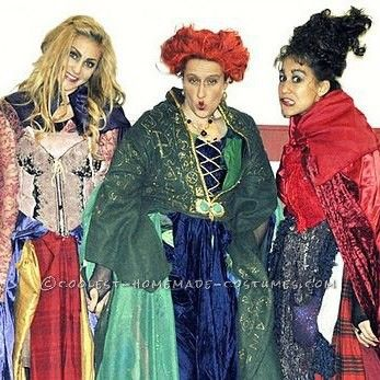Great Homemade Hocus Pocus Girls Group Costume ... This website is the Pinterest of costumes