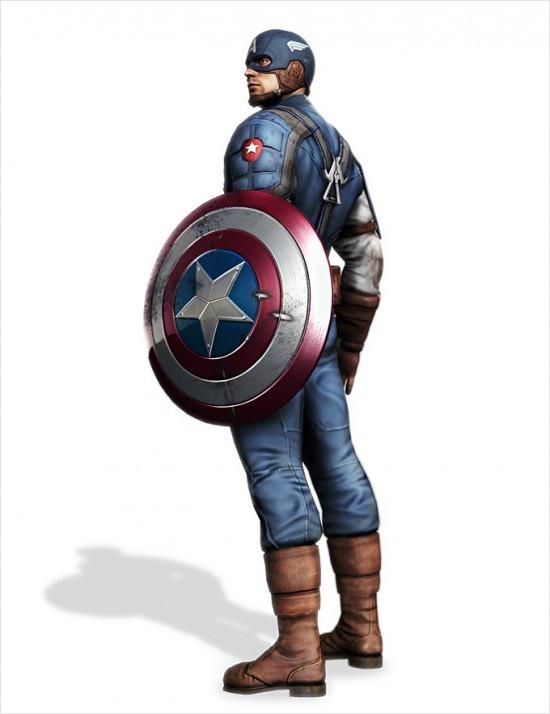 Concept Art: Capitan America – Super Soldier