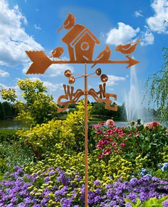 Weather Vanes For Wild Bird Enthusiasts.