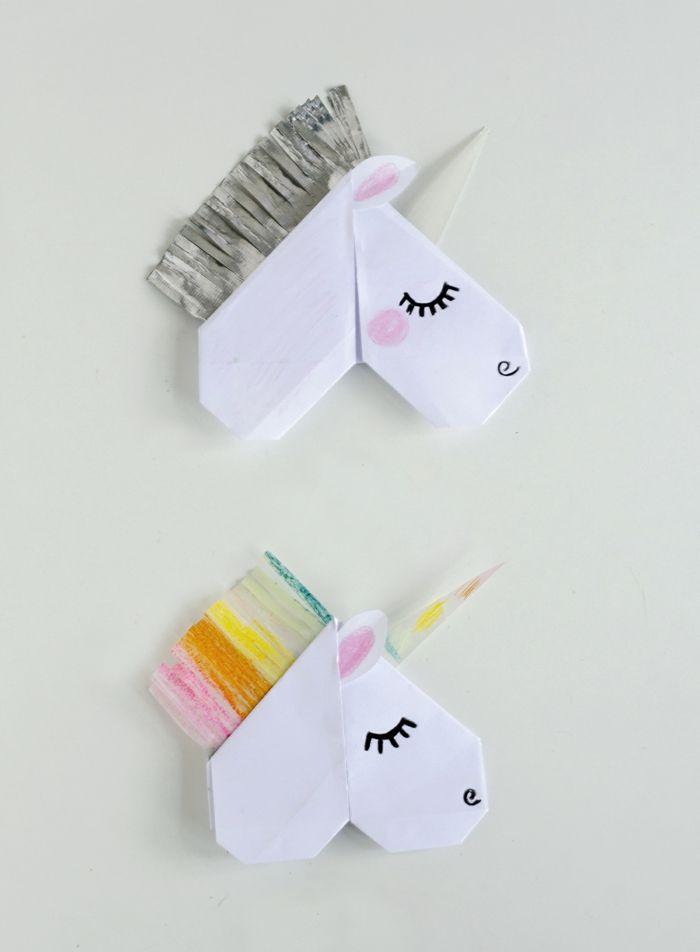 Les 25 meilleures id es de la cat gorie marque page origami sur pinterest marque pages en coin - Marque page en papier ...