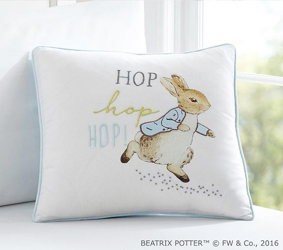 Hop Hop Decorative Sham Pottery Barn Kids Kids Throw