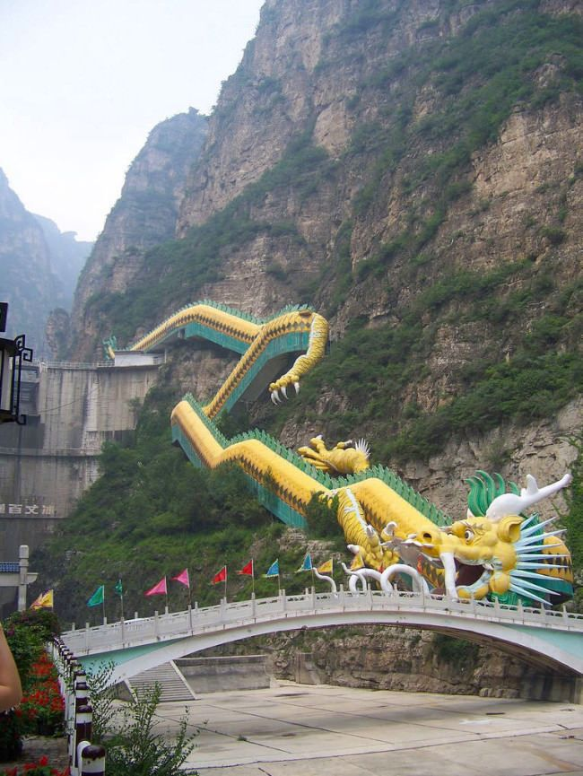 China's Dragon Escalator