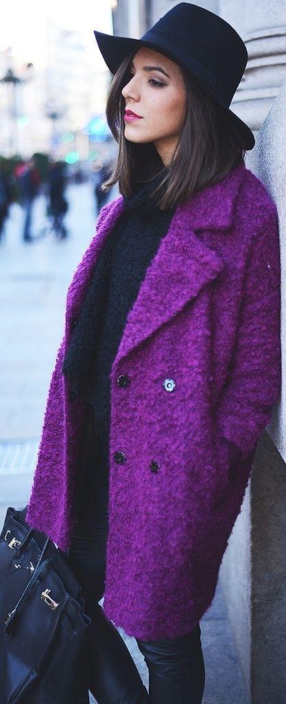 Pnatalones/Pants: Only Topshop coat / Street Style