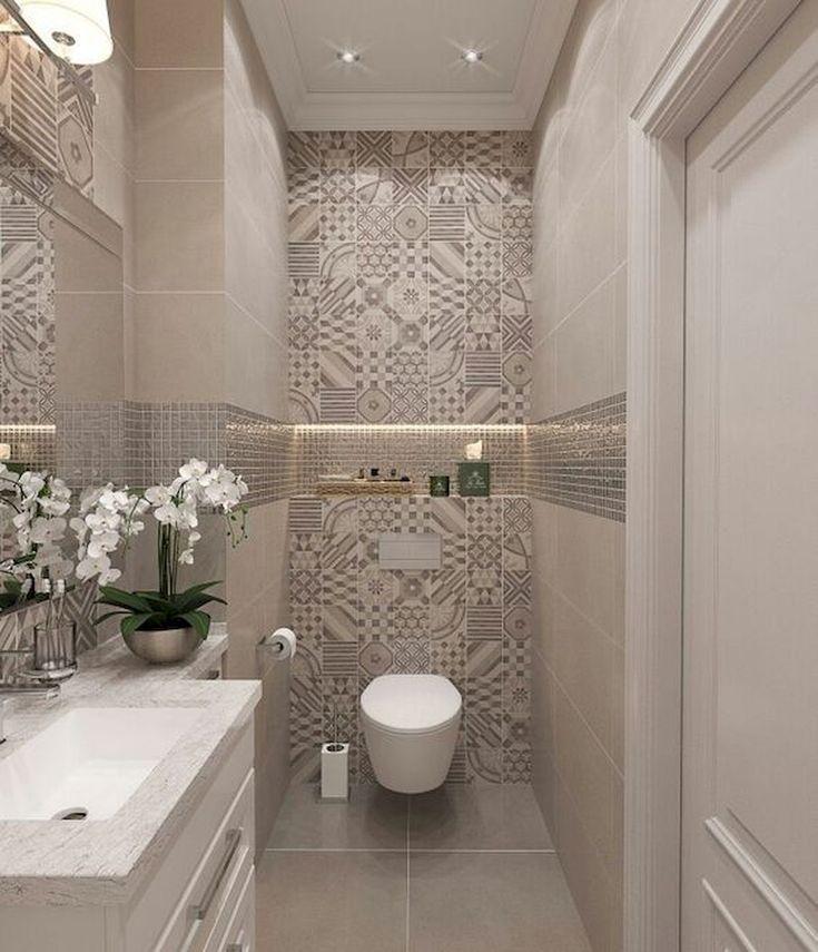 Fantastische 55 frische kleine Master-Badezimmer umgestalten Ideen und Design li