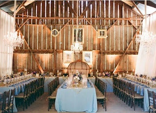 Old barn wedding