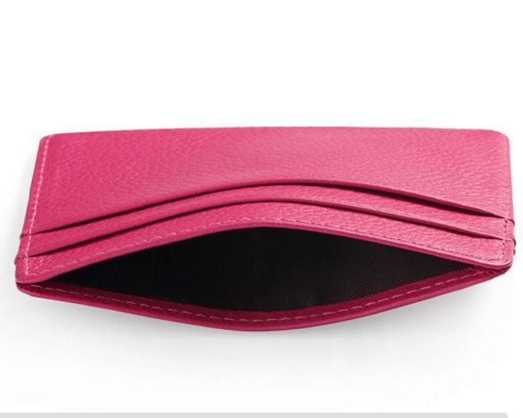 Pink Colour Women Cardholder with 3 Pockets