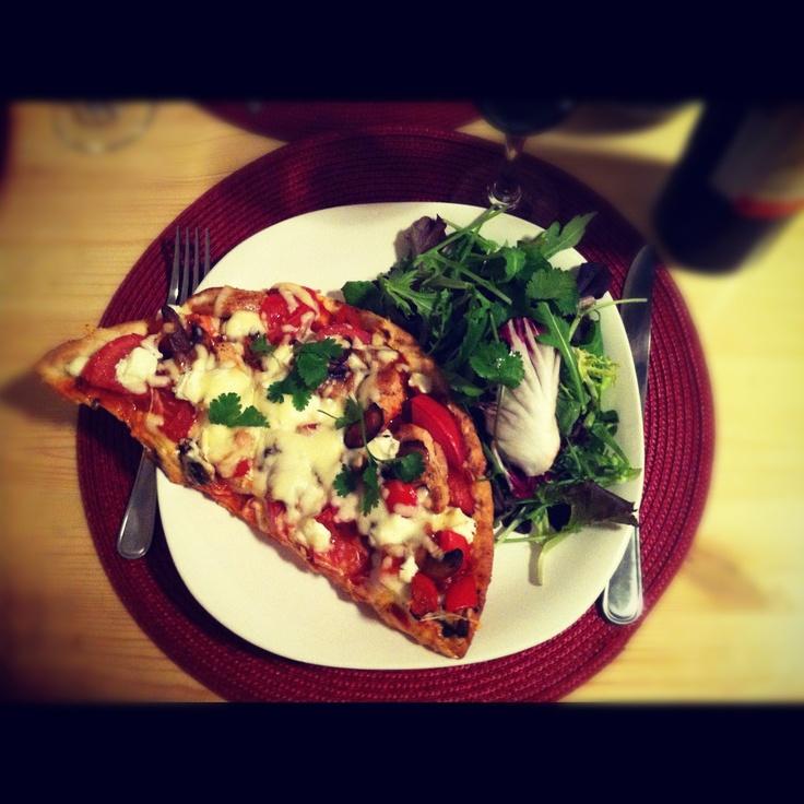 Pizza bien chargée !