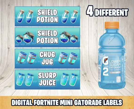 fortnite shield potion fortnite mini gatorade bottle. Black Bedroom Furniture Sets. Home Design Ideas